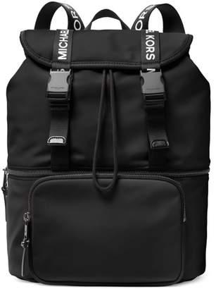 MICHAEL Michael Kors Large Logo Flap Backpack