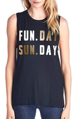 Color Bear Sunday Funday Tank