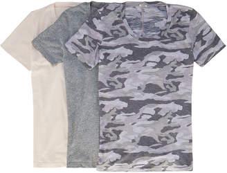 Monrow Three-T-Shirt Pack