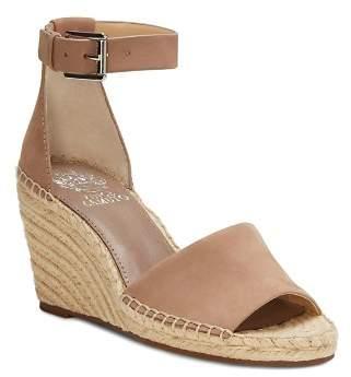 Vince Camuto Women's Leera Suede Espadrille Wedge Sandals