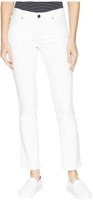 Jones New York Madison Slim Ankle Cool-Max Jeans in Soft White Women's Jeans