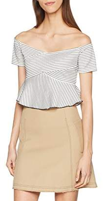 ENGLISH FACTORY Women's Stacy Blouse,8 (Manufacturer Size: Small)