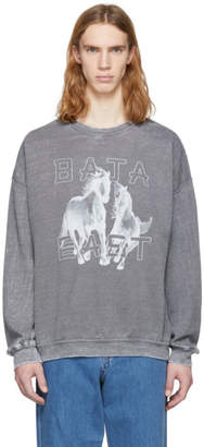 Baja East Grey Freedom Sweatshirt