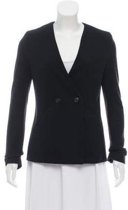 Alexander Wang Collarless Long Sleeve Blazer