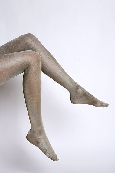 Urban Outfitters Liquid Metallic Full Foot Tights