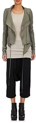 Rick Owens Women's Leather Biker Jacket