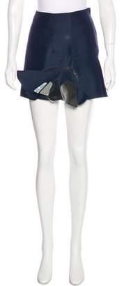 Toga Reflective Mini Skirt