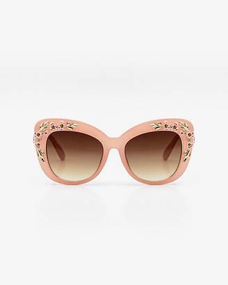 Le Château Floral Sunglasses