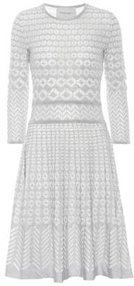Carolina Herrera Long-sleeved knitted dress