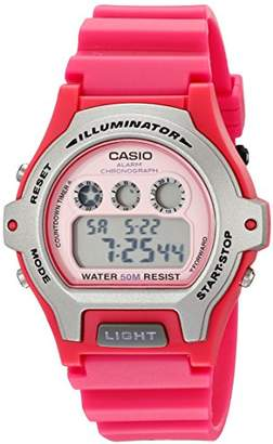Casio Women's LW-202H-4AVCF Illuminator Resin Watch