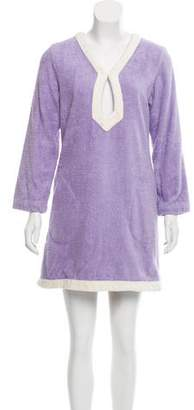 Lisa Marie Fernandez Terry Cloth Long Sleeve Tunic