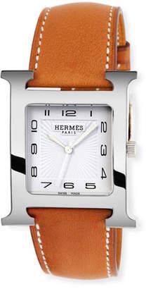 Hermes Heure H Watch, 30.5 x 30.5 mm