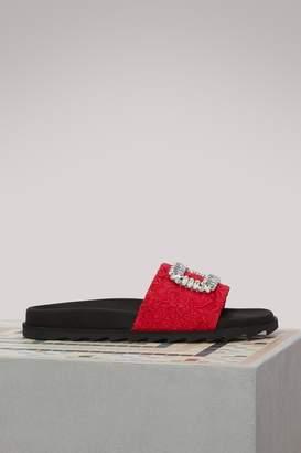 Roger Vivier Slidy Viv sandals