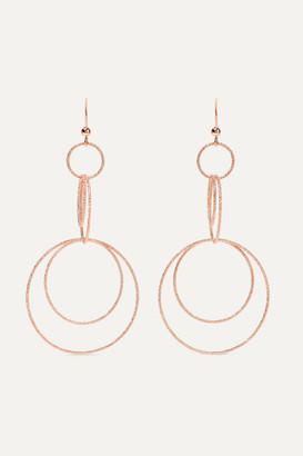 Carolina Bucci Florentine 18-karat Rose Gold Earrings