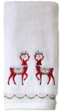 Dena Bardwil Closeout! Folkloric Cotton Embroidered Hand Towel Bedding