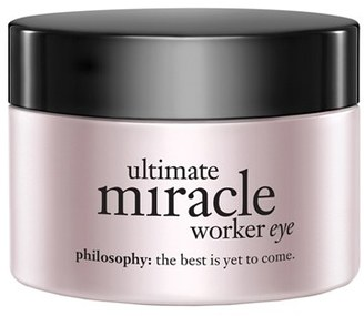 Philosophy 'Ultimate Miracle Worker Eye' Multi-Rejuvenating Eye Cream Broad Spectrum Spf 15 $70 thestylecure.com