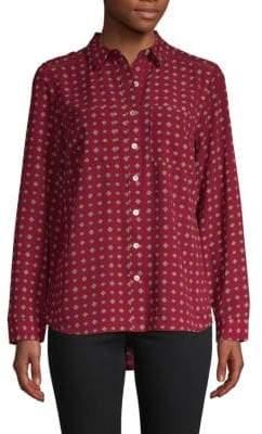 Floral Button-Down Shirt