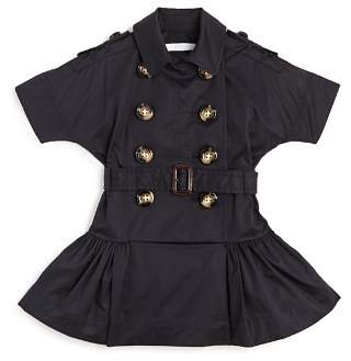 Burberry Girls' Cynthia Modern Trench Dress - Little Kid, Big Kid