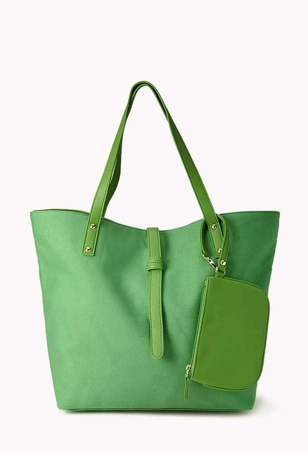 Forever 21 Everyday Canvas Tote