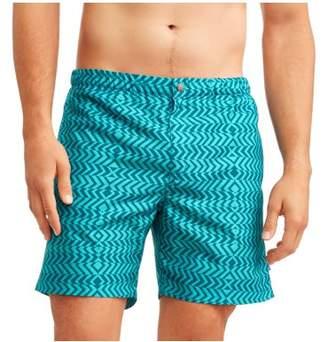 Trunks Ocean Gear Big Men's Geometric Swim Trunk