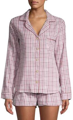 UGG Women's W Milo Check Cotton Pajamas