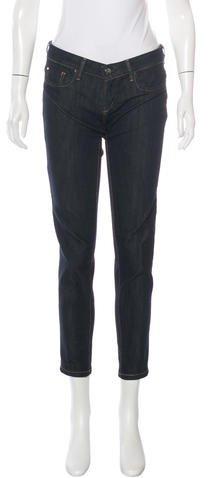 Barbara BuiBarbara Bui Low-Rise Straight-Leg Jeans
