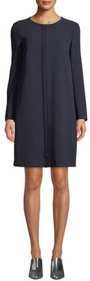 Max Mara Cirinio Long-Sleeve Shift Dress