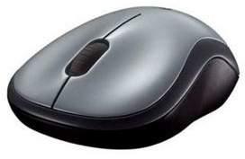 Logitech M185 24Ghz Wireless Optical Mouse - Grey