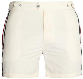 Solid & Striped The Kennedy Swim Shorts - Mens - White Multi