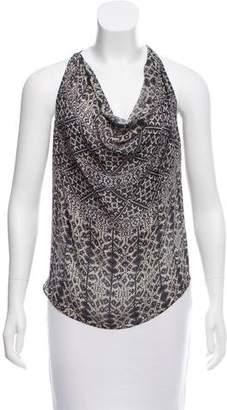 Haute Hippie Silk Embellished Top