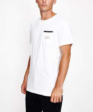 rhythm Cardiff Short Sleeve T-shirt White