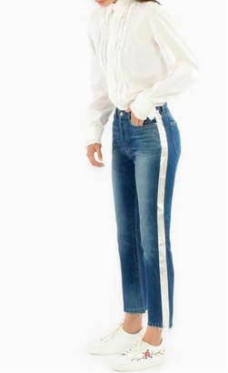 Siwy Metallic Stripe Denim