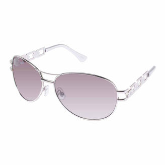 ROCAWEAR Rocawear Full Frame Aviator UV Protection Sunglasses-Womens $28 thestylecure.com