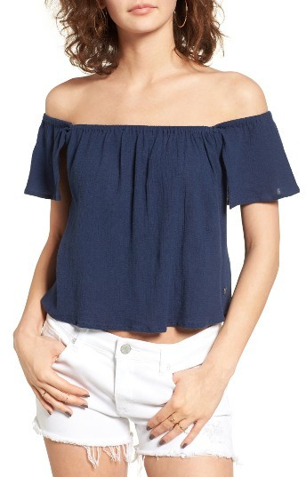 Women's Roxy Princess In The Sea Off The Shoulder Top