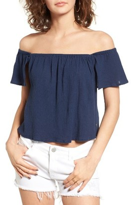 Women's Roxy Princess In The Sea Off The Shoulder Top $39.50 thestylecure.com