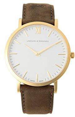 Demi-Luxe BEAMS (デミルクス ビームス) - (デミルクスビームス) Demi-Luxe BEAMS LARSSON&JENNINGS (ラーソンアンドジェニングス) / LADER ストラップ 腕時計 64480016191 ONE SIZE ホワイト×ゴールド
