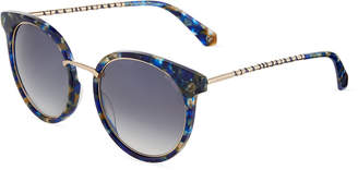 Balmain Modified Cat-Eye Sunglasses