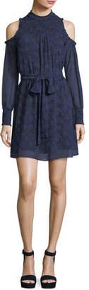MICHAEL Michael Kors Twinkling Stars Cold-Shoulder Dress