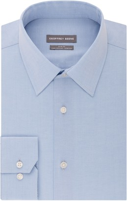 Geoffrey Beene Men's Slim-Fit Stretch Point-Collar Dress Shirt