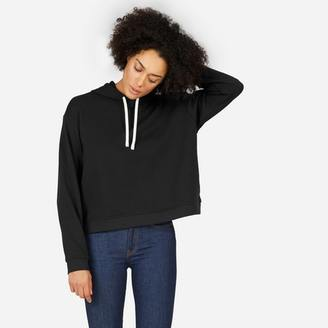 The Classic French Terry Square Hoodie $48 thestylecure.com
