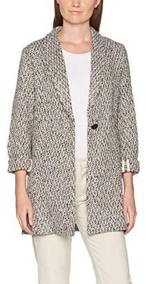 Suncoo Women's EDINE Coat, Grey 27-Beige Chine, Medium