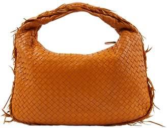 Bottega Veneta Veneta Camel Leather Handbag