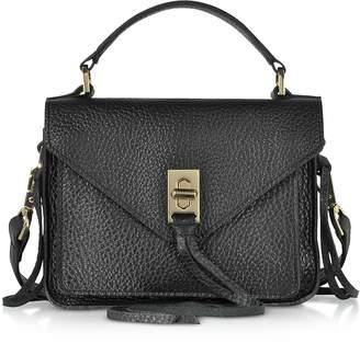 Rebecca Minkoff Glossy Leather Mini Darren Messenger Bag