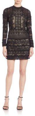 Parker Julie Lace Dress $295 thestylecure.com
