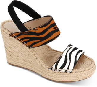 0757b158fd12 Kenneth Cole New York Women Olivia Simple Wedge Sandals Women Shoes