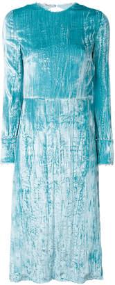 Miu Miu (ミュウミュウ) - Miu Miu オープンバック ベルベットドレス