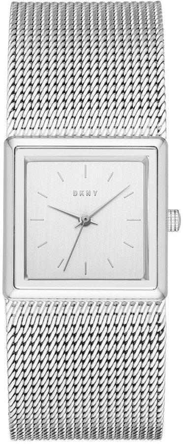 DKNYDKNY Women's Stonewall Stainless Steel Mesh Bracelet Watch 25mm NY2562