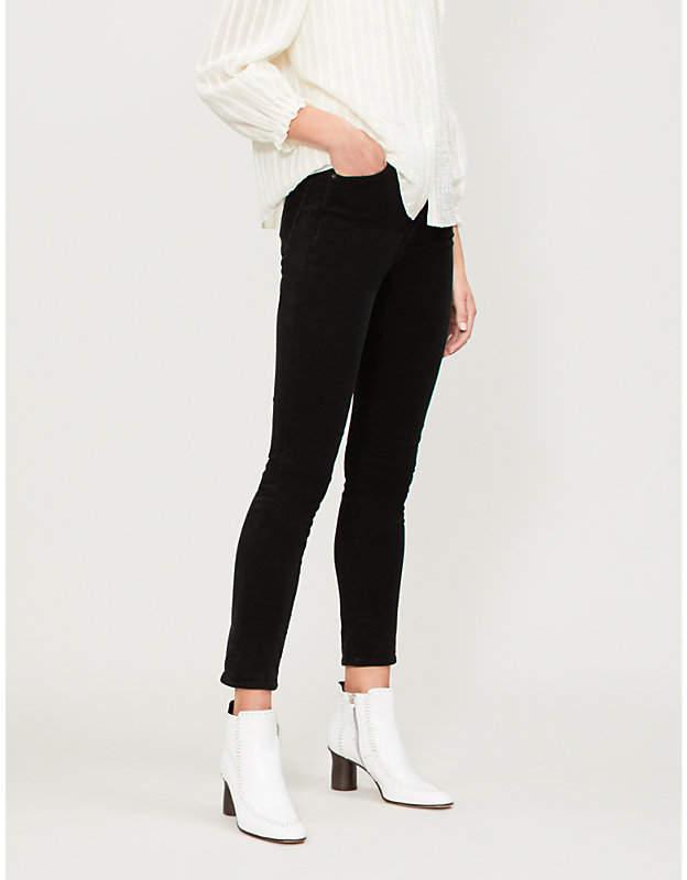 Olivia skinny high-rise stretch-corduroy jeans