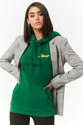 Forever 21 Amour Hoodie Sweatshirt
