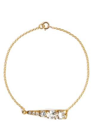 SANDY HYUN Mixed Crystal Bracelet